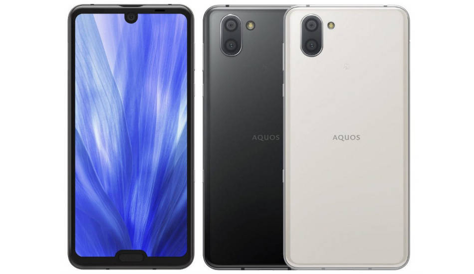 Sharp Aquos R3 launched with dual notches and Snapdragon 855 SoC