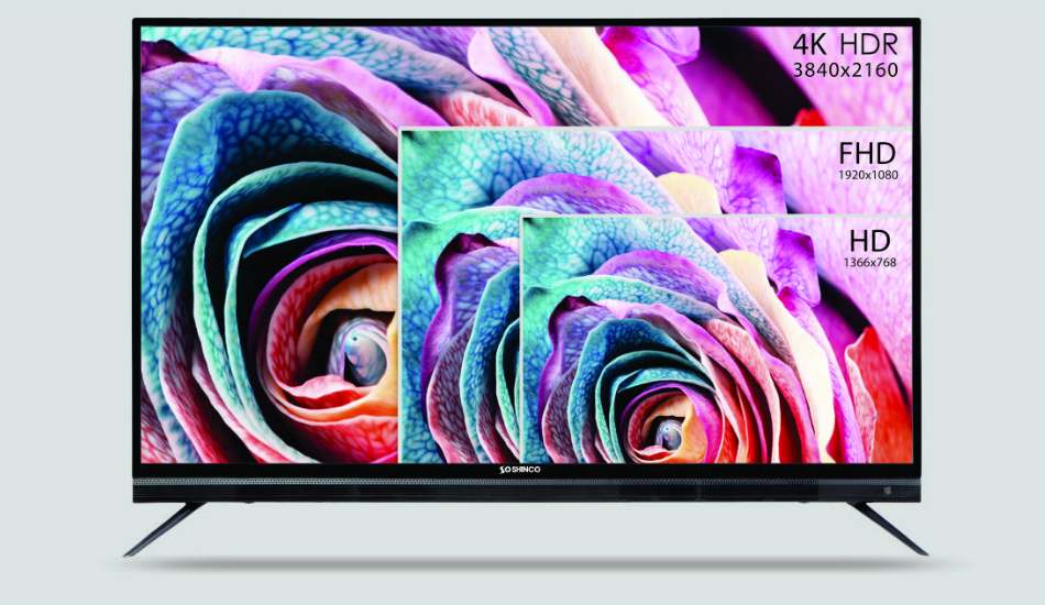 Shinco 65-Inch 4K Smart TV announced for Rs 49,990, to rival Xiaomi, Kodak