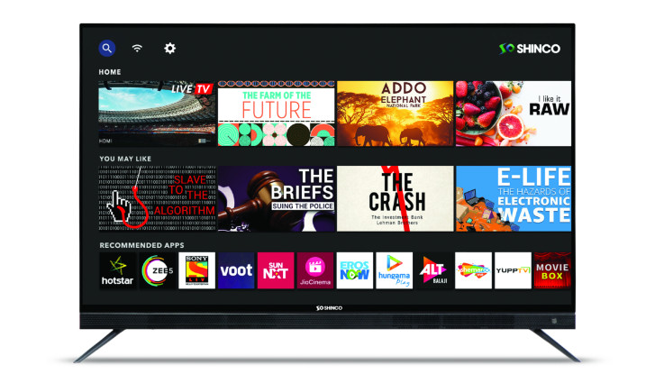 Shinco launches new range of Smart TV's in India starting Rs 16,999