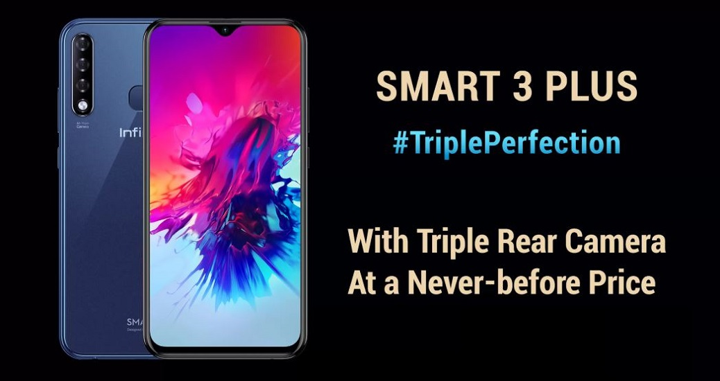 Infinix Smart 3 Plus with triple rear camera setup launching tomorrow