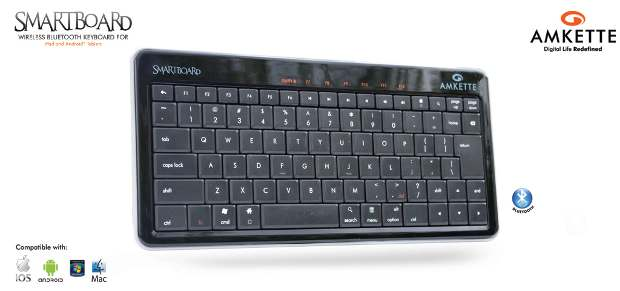 Amkette launches Bluetooth keyboard for tablets