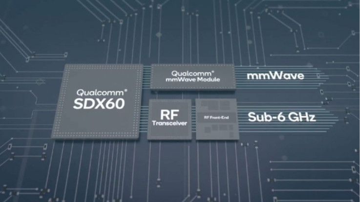 Qualcomm Snapdragon X60 5G modem with up to 7.5Gbps download speeds announced