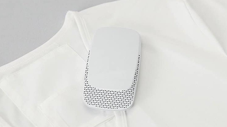 Sony's wearable air conditioner can fit inside your shirt