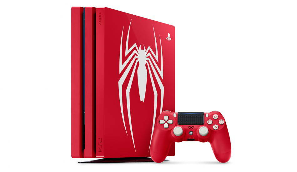 Sony launches Limited Edition 'Amazing Red' Spider-Man PS4 Pro