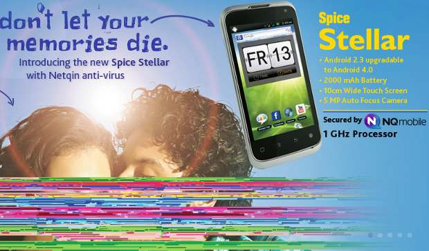 Spice announces 5 inch Android ICS phone for Rs 12K