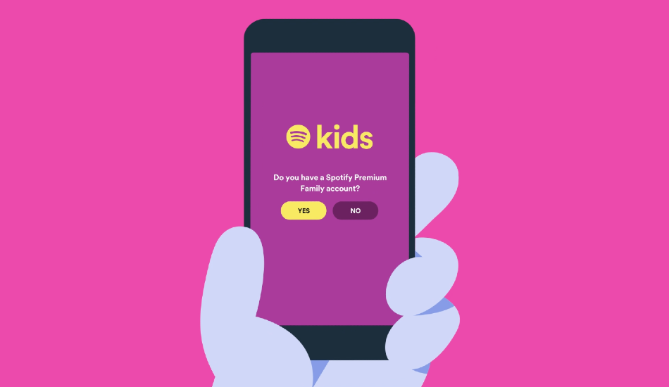 Spotify Kids standalone child-friendly app announced