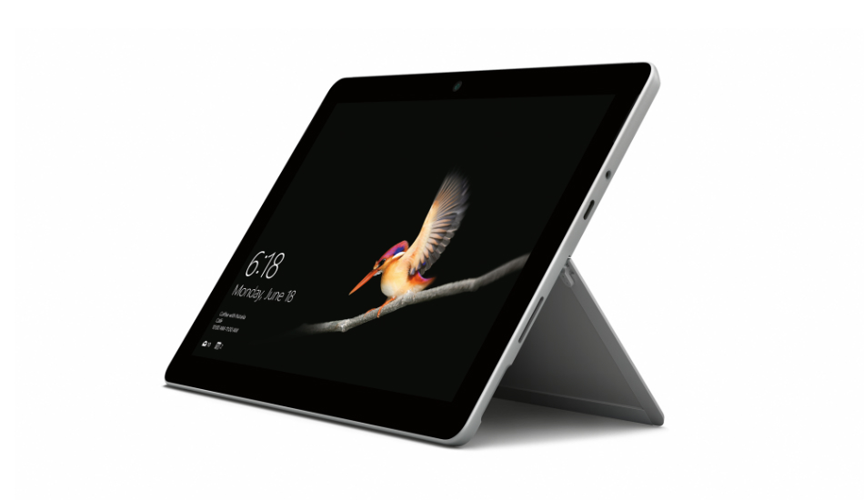 Microsoft Surface Go goes on pre-order in India, price starts at Rs 38,599