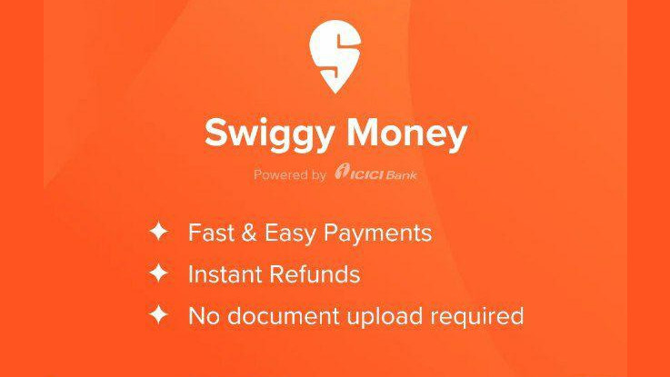 Swiggy Money digital wallet service launched in India
