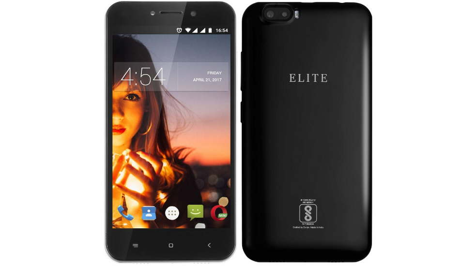 Swipe Elite Dual with dual rear cameras and 5 inch display launched at Rs 3,999