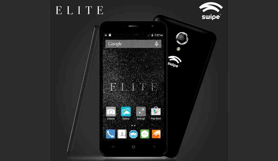 Swipe Elite 4G with 5 inch display and quad-core CPU lauched at Rs 3,999