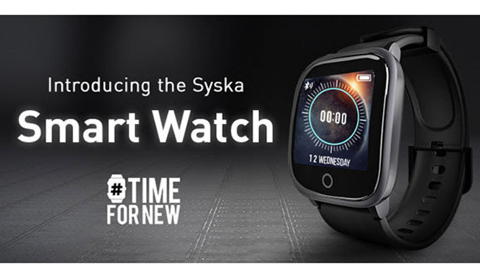 Syska Bolt SW200 smartwatch launched in India with over 100 watch faces, sports modes, SpO2 monitoring and more