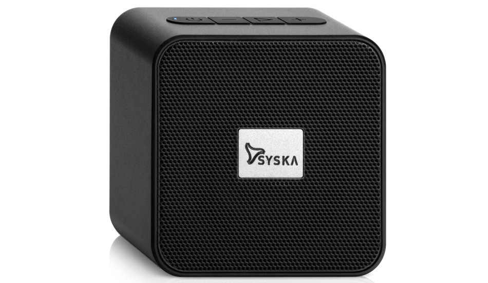 Syska BT4070X Wireless Speaker launched in India for Rs 1499