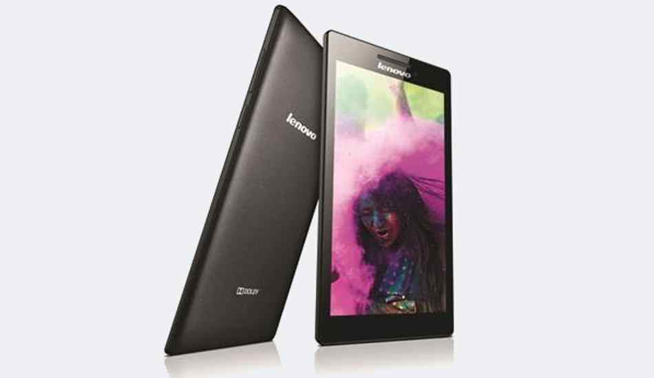 Lenovo launches Tab 2 A7-10 for Rs 4,999 with 1GB of RAM