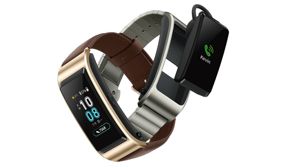 Huawei TalkBand B5 with detachable Bluetooth headset, heart rate sensor goes official