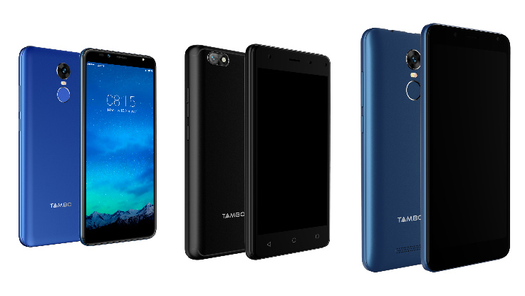 Tambo makes it debut in India with 3 smartphones and 6 feature phones