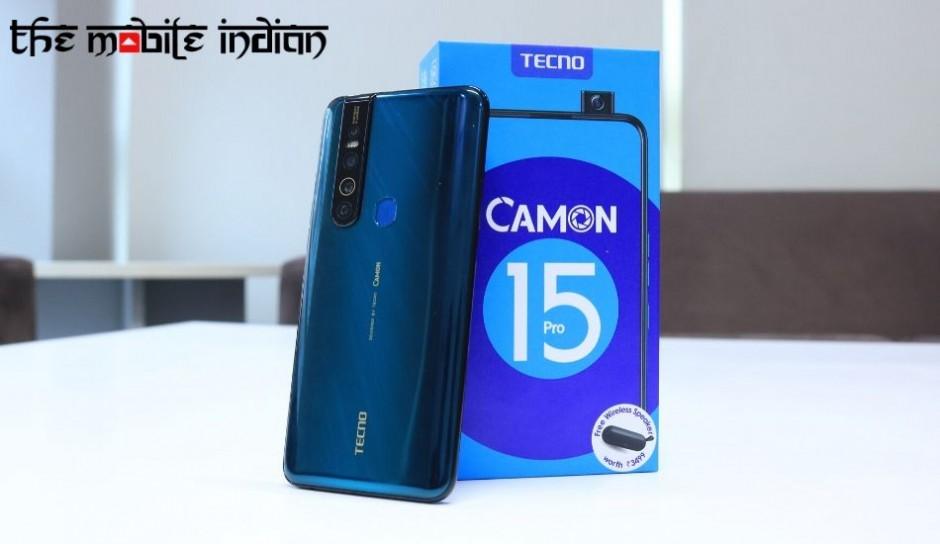 Tecno Camon 15 Pro First Impressions