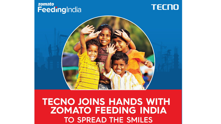Tecno partners with Zomato and 100+ channel partners to distribute ration kits across India
