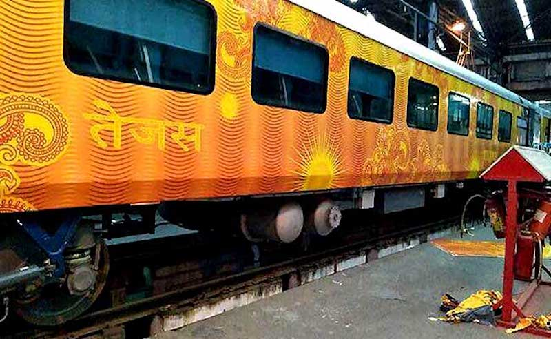 Tejas Express Set to Flag-Off; On-board WiFi and Infotainment System Installed