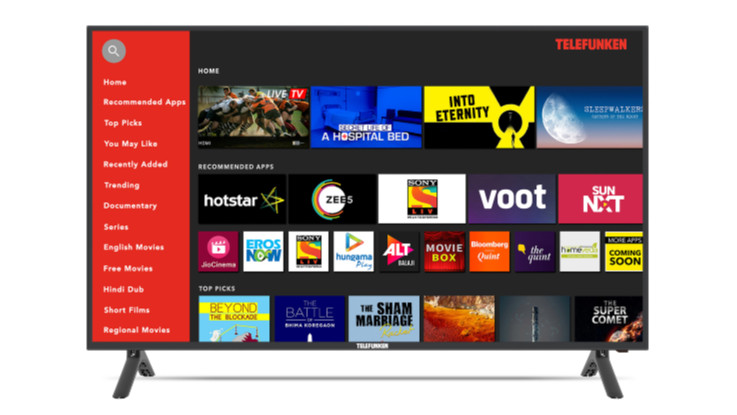 Telefunken introduces new range of Bluetooth HD and FHD Smart LED TVs in India