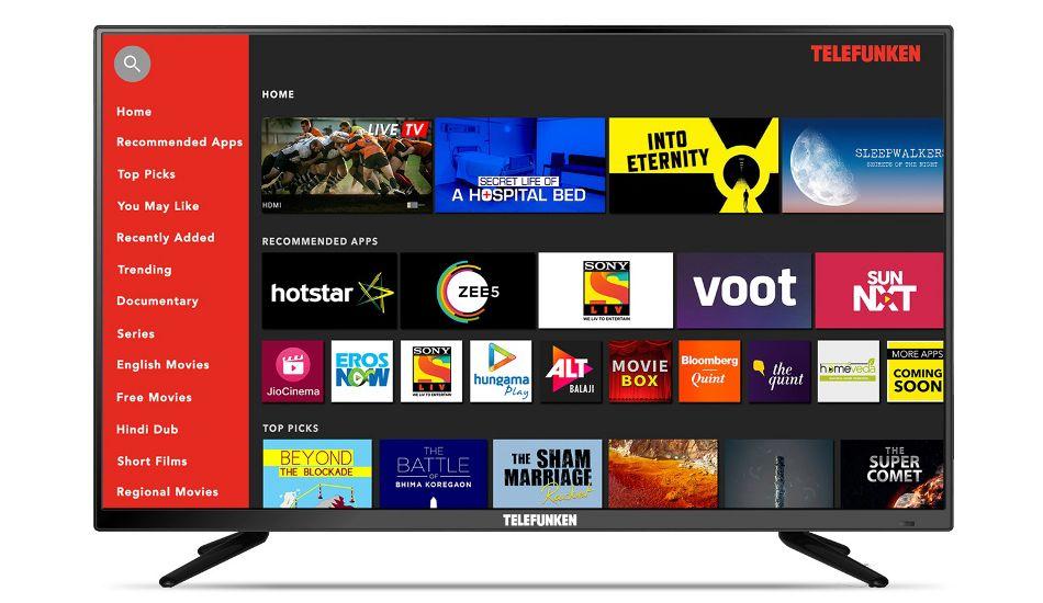 Telefunken resumes Smart TV sales on Amazon in Green and Orange zones
