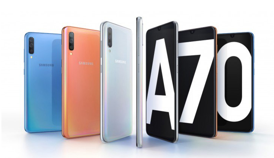 Samsung Galaxy A70 with 32MP triple cameras, 4,500mAh battery announced