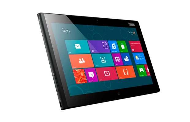 Lenovo unveils ThinkPad Tablet 2 with Windows 8