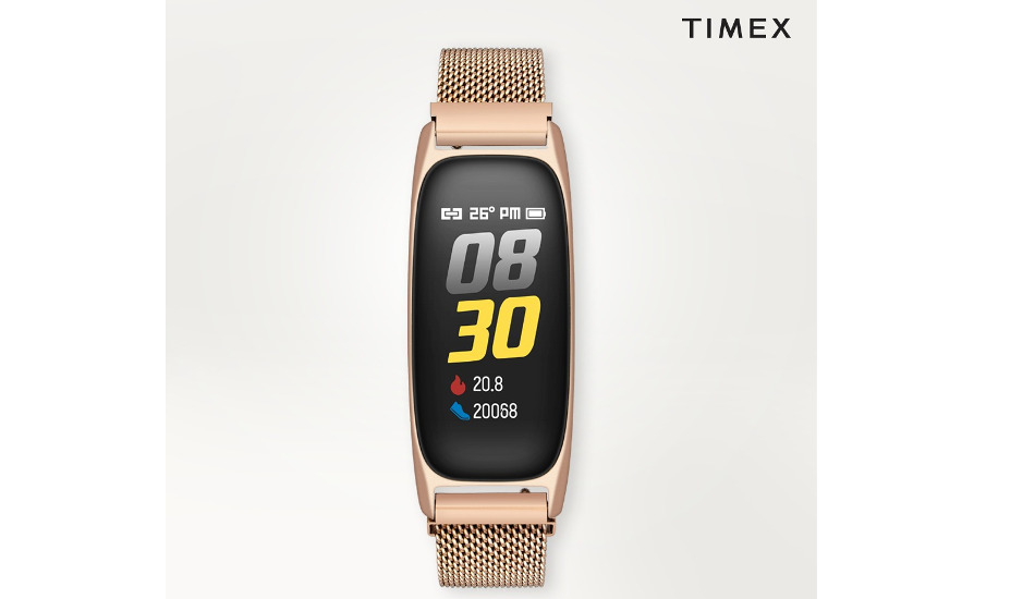 Timex launches its first fashion fitness band in India for Rs 4,495