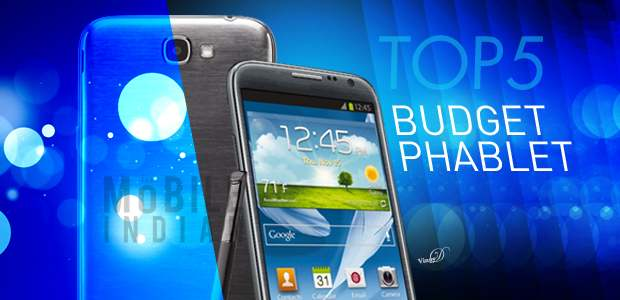 Top 5 Android budget phablets