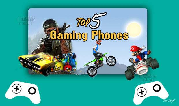 Top 5 gaming smartphones for Aug