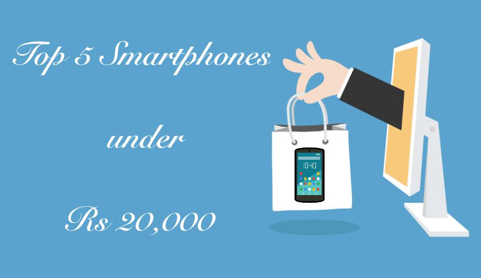 Top 5 smartphones under Rs 20,000 (May 2019)