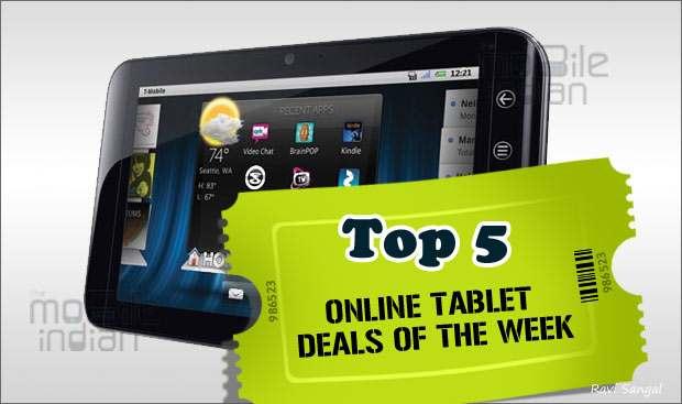 Top 5 online tablet deals this week