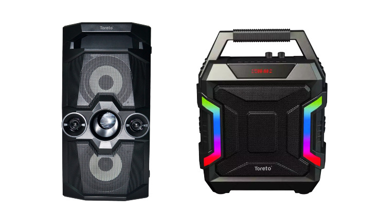 Toreto introduces Drum Beat and Party 100 speakers in India