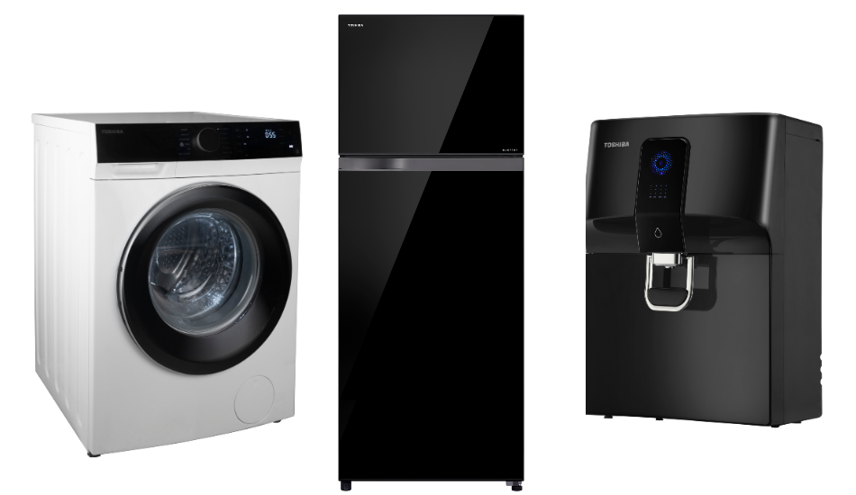 Toshiba introduces new range of Refrigerators, Washing Machines, Water Purifiers in India