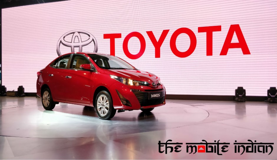 Toyota Yaris sedan to go on sale in India today starting at Rs 8.75 Lakh