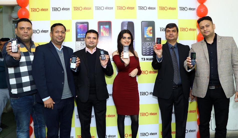 Trio Digital launches new range of 'Make In India' mobile phones