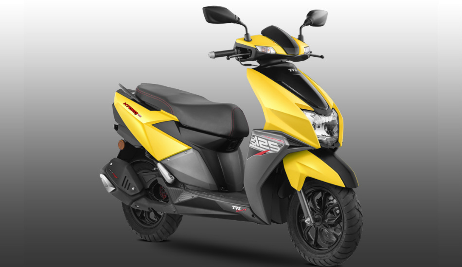 TVS NTorq 125 Scooter with Bluetooth connectivity launched in India for Rs 58,750