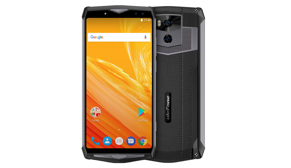 Ulefone launches a phone with a 13000 mAh battery and four cameras