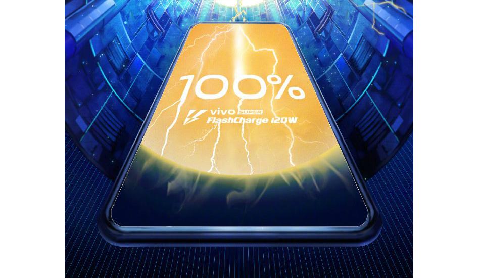 Vivo teases world's fastest 120W Super FlashCharge technology