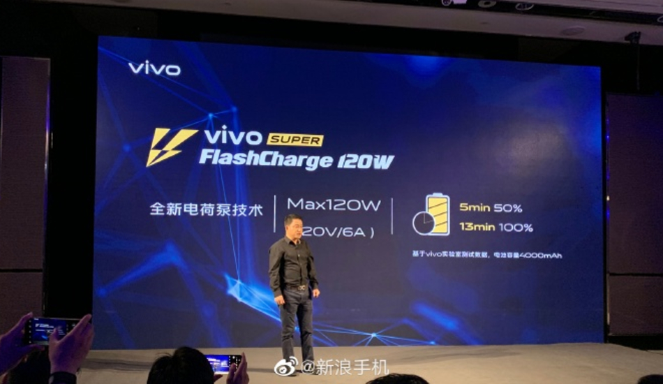 Vivo unveils 120W Super FlashCharge technology, AR Glasses, iQOO 5G detailed