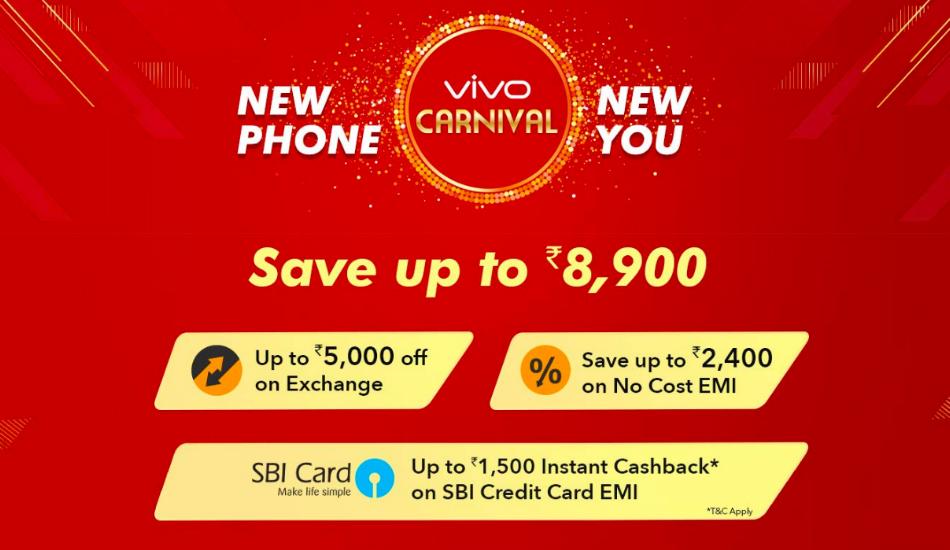 Vivo Carnival on Amazon: Discounts on Vivo NEX, V11 Pro, Y95 and more