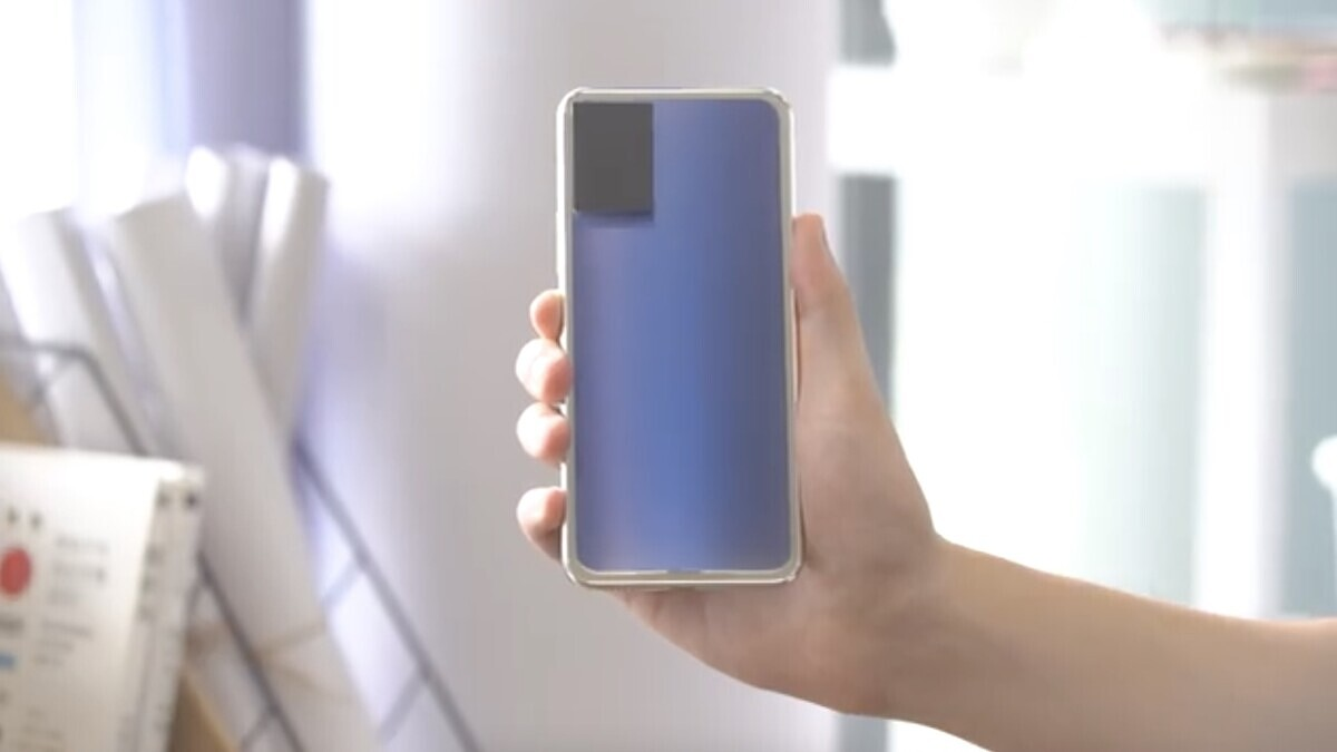 Vivo showcases a Phone With Colour-Changing Back Panel