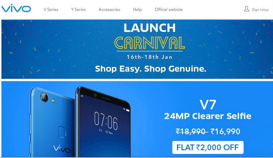 Vivo introduces its own e-store in India