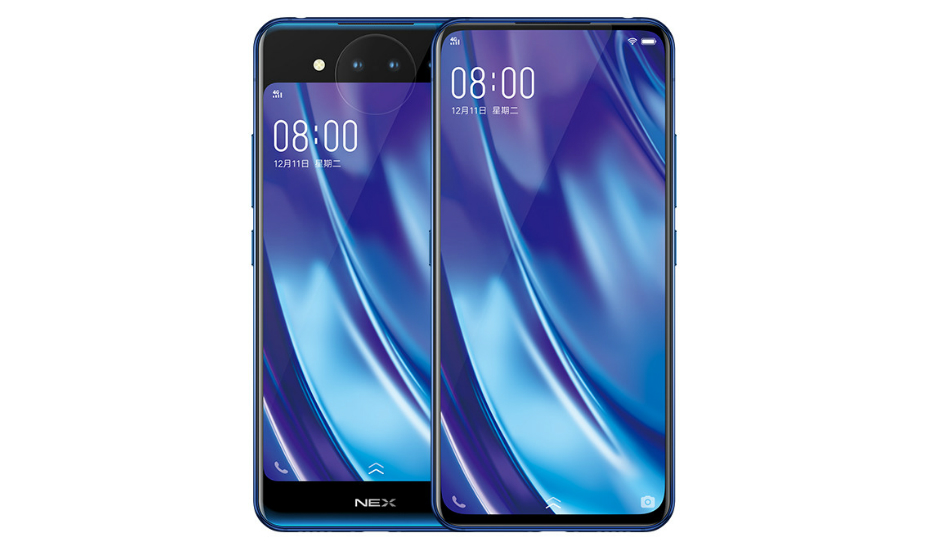 Vivo NEX Dual Screen with Snapdragon 845, triple cameras with 3D TOF announced
