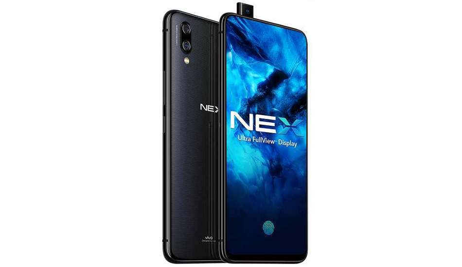 Vivo NEX launched in India with pop-up selfie camera and in-display fingerprint for Rs 44,990