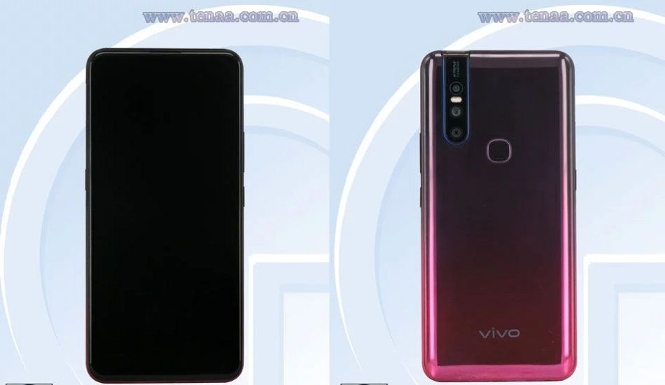 Vivo V1930A/T appears on TENAA with 6.35-inches display, 4,880mAh battery