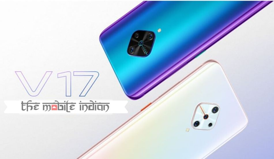 Vivo V17 with 6.44-inch FHD+ Super AMOLED display, 32MP selfie camera launched in India
