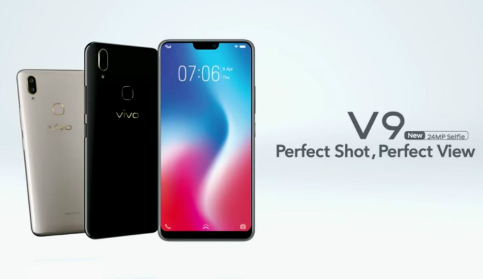 Vivo V9 found listed on Amazon ahead of official launch