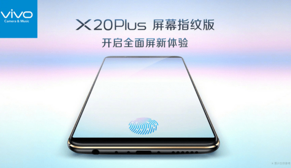 Vivo X20 Plus UD with in-display fingerprint sensor is now official