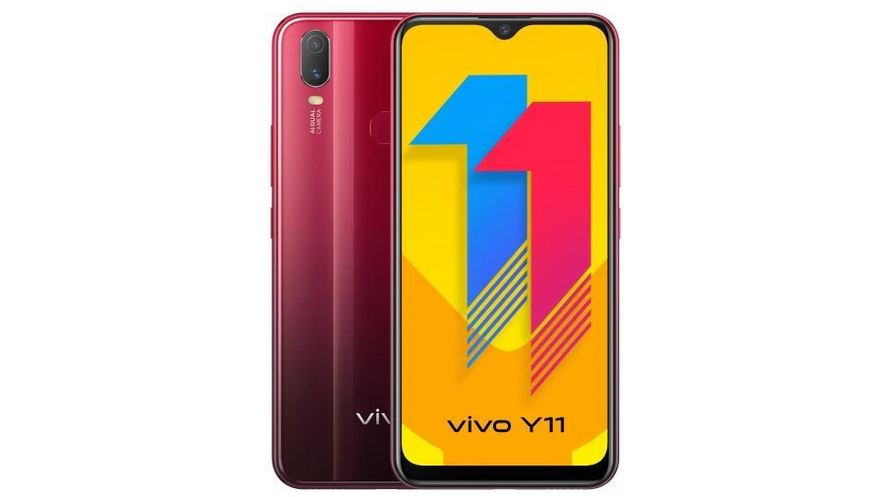 Vivo Y11 launched in India with 6.35-inch FullView display, 5000mAh battery