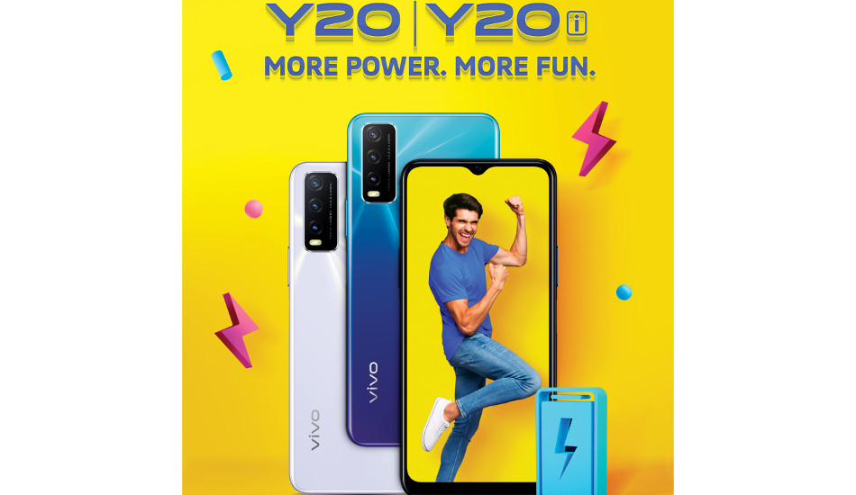 Vivo Y20 new variant with 6GB + 64GB storage launched for Rs 13,990